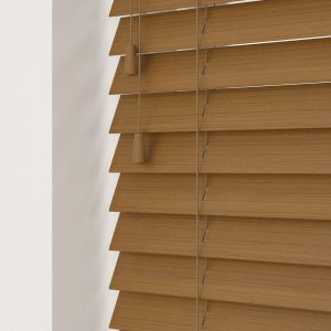 Amber Faux Wood Venetian Blinds