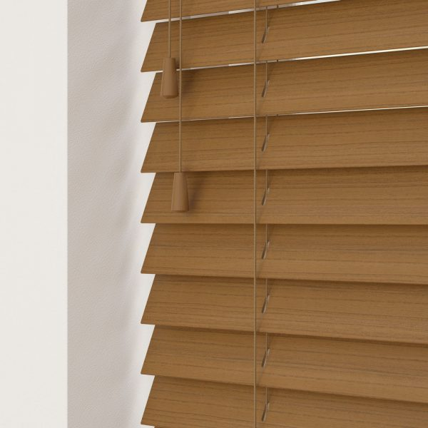 Amber Faux Wood Venetian Blinds