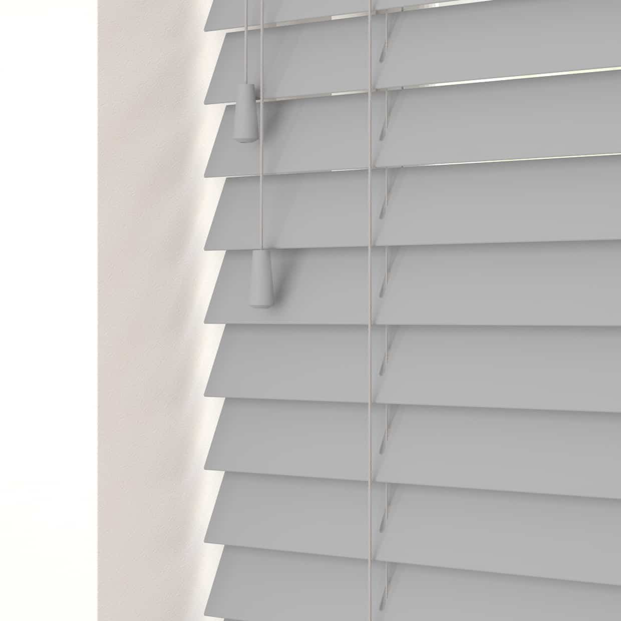 Faux Wood Venetian Blinds - Mission
