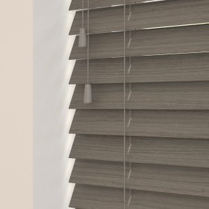 claro wood venetian blinds with cords