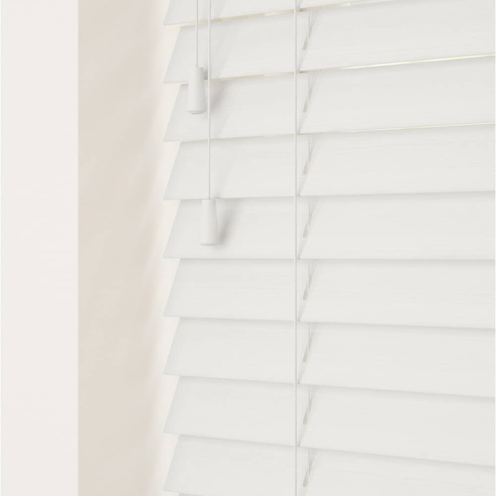 Serene Fine Grain Faux Wood Venetian Blinds With Cords Shutters And Blinds Online