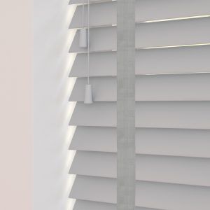 Grey Wood Venetian Blinds