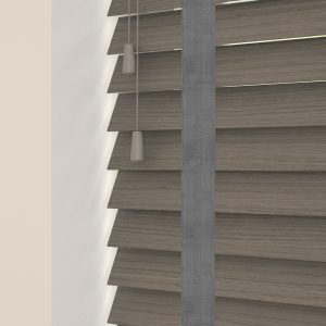 claro wood venetian blinds with tapes
